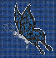 Hey, I found this really awesome Etsy listing at https://www.etsy.com/listing/225125424/blue-butterfly-graphgan-pattern