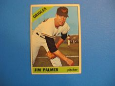 JIM PALMER RC 1966 TOPPS #126 #BaltimoreOrioles