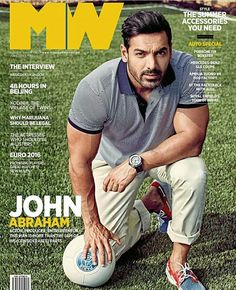 The hottest hunk of Bollywood for magazine June edition John Abraham, Reality Tv Stars, Hot Hunks, Summer Accessories, Mans World, Indian Celebrities, Fine Men, Bollywood Actors, Asian Actors
