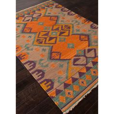 Taos Rug - love these colors!