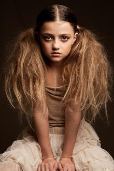 Dutch child model Sarah Princen by photographer Beppie Veldhuizen