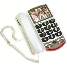 Ensure safety and comfort for the person with Alzheimer's in your life. Our store carries a special selection of picture phones & dial-less telephones. Senior Day, Contact List, Alzheimer's And Dementia, Assistive Technology, Stressed Out, Alzheimers, How To Be Outgoing, Landline Phone, Mom And Dad