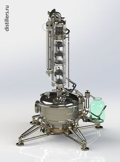Дистиллятор OMD-30-pro с колонной тарельчатого типа для приготовления качественного алкоголя в домашних условиях.