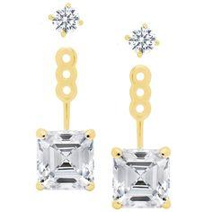 CRISLU Princess Earring Jackets