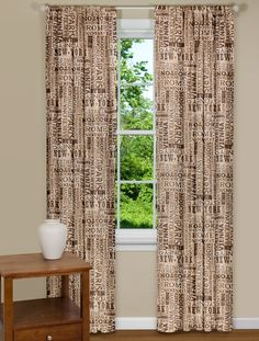 Modern curtains & drapes for every window in your home. Searching for contemporary chic or trendy and upbeat? Eclectic Curtains, Modern Curtains, Drapes Curtains, Curtain Panels, Contemporary Curtains, Contemporary Interior, Industrial Curtains, House Colors, Sweet Home