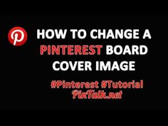 How to Change a Pinterest Board Cover Image