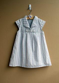PDF Pattern - Hannah Dress for 12M - 5T and tutorial.. $5.95, via Etsy.