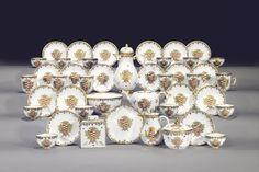 Servizio con armi Taparelli, Meissen, 1730 circa. © Christie's Images Limited Web 2.0, Case Histories, Marketing, Gold Rings, Miniature, Rose Gold, Cos, Jewelry, Community