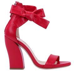 Sandales à talon en cuir rouge à noeud, Repetto st valentin Magnifiques  Sandales, Sandales e66056ac7346