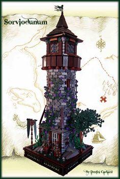 ~ Lego MOCs Fantasy ~ Diorama - Castle / Derfel Cadarn
