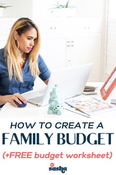 Trying to learn how to make a budget that works for your family? Check out this post where I discuss how you can get everyone on that budget train! PLUS, you'll get a FREE budget planner!