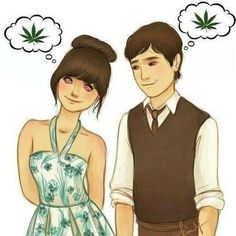 It kinda looks like Joseph Gordon & zoey deschannel from 500 days of summer Minimal Techno, Funny Images, Funny Pictures, Weed Pictures, 500 Days Of Summer, Summer 3, Cute Couple Pictures, Linkin Park, Smoking Weed