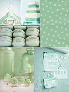 Hey Look - Event styling, design inspiration, DIY ideas and more: COLOR LOVES - MINT