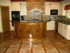 Amazing Kitchen Floor Tile Ideas Kitchen Furniture Kitchen Decor Kitchen Design White Furniture & 65 best Tile Placement images on Pinterest | Bathroom Kitchen ...
