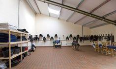 British event rider Piggy French's new tackroom
