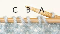 decreases in brioche stitch - Google'da Ara