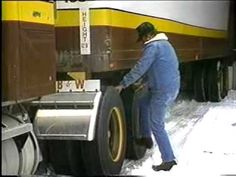 Truck Drivers - Winter Driving Safety Tips - YouTube