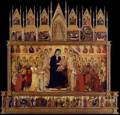 The Maesta by Duccio di Buoninsegna