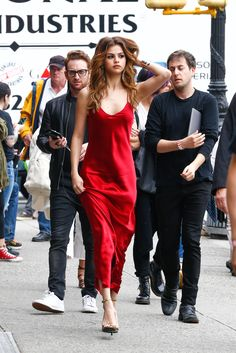 The streets of New York are her runway.