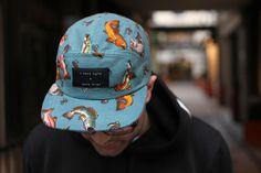 I LOVE UGLY 5panel cap