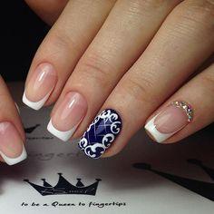 Автор ksnail777 #амореногти #nailinspiration   Магазин профессиональной косметики для волос и ногтей amoreshop.com.ua
