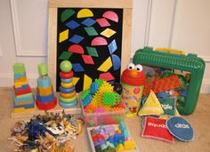 Ideas for keeping toddlers busy while homeschooling.
