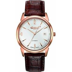 INGERSOLL Automatic Jefferson Brown Leather Strap