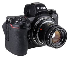 Shoten officially released CFD-NZ and LM-NZ EX Nikon Z-mount lens adapters. Nikon Film Camera, Reflex Camera, Nikon Cameras, Nikon Dslr, Canon Lens, Camera Equipment, Photo Equipment, Photography Equipment, Gopro Photography