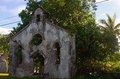 Old Inarajan Church ruins, Guam USA