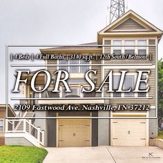 A spectacular home with a great flow and use of space. Not only will you be minutes away from Nashville's hotspots, but you'll have your own guest house too. #ForSale #NCR #Belmont #12thSouth #Hotspots #GuestHouse #Nashville #VRBO