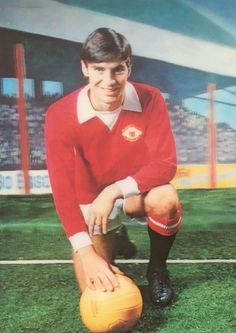 Martin Buchan of Man Utd 3D card from 1972.