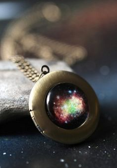 Nebula Locket. I like this because it is cool and it also looks like a galaxy cookie. I would also put an actual cookie inside of the locket for emergencies. And by emergencies I mean every 10 minutes when I get hungry.