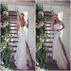 #bohobride #bohochic #noiva http://noivadeevase.com/noivas-boho-chic-anna-campbell/