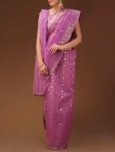 Buy Wondrous Jamdani by Vastra Kutimm Ethereal Dhakai Jamdani Cotton Sarees Online at Jaypore.com