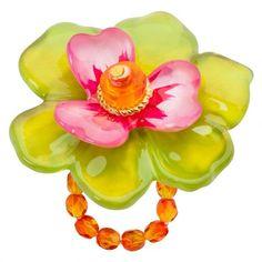 Lalo Treasures: Big green flower