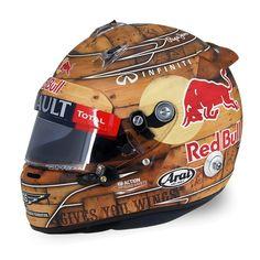 helmet S.Vettel / GP USA
