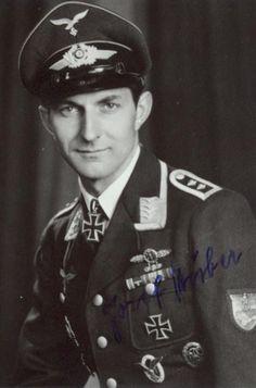 ✠ Josef Huber (18 July 1915 - 24 May 2008) RK 20.07.1944 Oberfeldwebel Flugzeugführer i. d. 8./SG 77