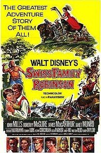 Swiss Family Robinson made me want to get stranded on a deserted island.