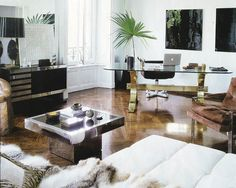 office space of the day: living room double take