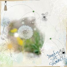 Dandelion - All products available from www.designerdigitals.com