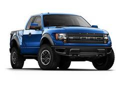 Ford Raptor SVT Blue Truck - LGMSports.com