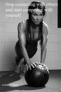 Deja de competir con otros y empieza a competir contigo mismo.