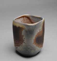Tumbler Wine Cup Wood Fired B71. www.JohnMcCoyPottery.etsy.com