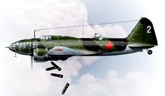 Советский бомбардировщик Ил - 4