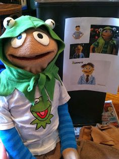 How to make Walter from the Muppet movie