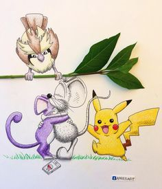 #PokeHug !!! Bringing Pokemon Go to the next level!!! 😍 Wouldn't that be sooooo cool!??? 🐭 (yes I'm addicted to this game... Teenage dream come true!! Hahaha 🙈) ---------------------------------------------- #apredart #rikiki #pokemon #pokemongo #pokemonart #pikachu #pidgey #rattata #art #fun #funny #nintendo #drawing #artwork #artist #worldofartists #arts_gallery #arts_help #nawden #worldofpencils #art_we_inspire #artfido #instaart #nerd #geek