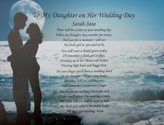 A Gift For A Son-in-law. Poem #90, Unique 30th 40th 50th ... https ...