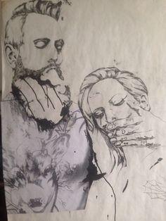 Nächsten Dienstag, 31. März 2015 I 19.30 Uhr II Ausstellungseröffnung @  ZWEITBESTER II ..... rough or real! II Diana Deu II  Zeichnung I Malerei II