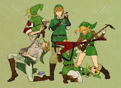 The Legend of Zelda   Links   エアアァバンド