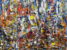 The wall - smalti su tavola 40x50 - 2013